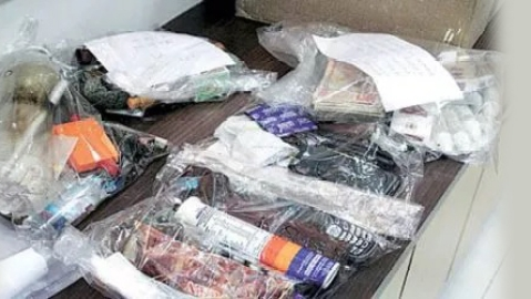 Bomb and drugs recovered in Tripura; two arrested