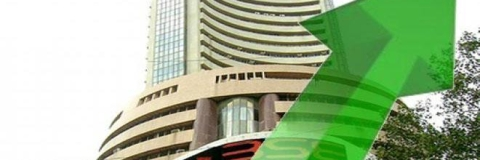 Sensex at new high at 38,796.68 pts