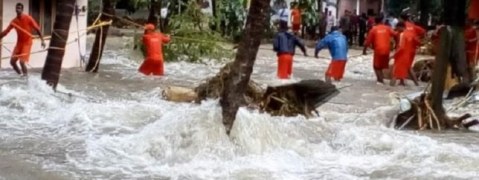 Centre grants Rs 3,048 more as flood relief to Kerala