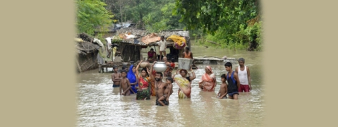 Flood-hit population doubles overnight; toll at 41 in Assam