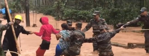 Army help to Kodagu rehabilitation