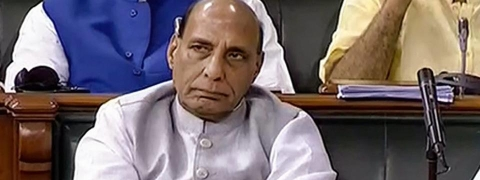 Rajnath confirms 'detention' of AITC leaders in Silchar