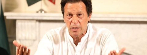 "Pakistan's Imran Khan calls for more ""trustworthy"" ties with U.S."