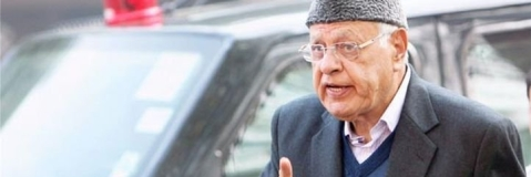 Dr Farooq meets Rajnath, seek inquiry into death of youth in SF firing at his Jammu residence