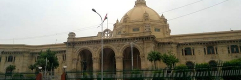 SP stages walk-out of UP Assembly over Pension scheme
