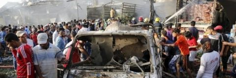 Eight killed in car bomb attack on Iraqi checkpoint