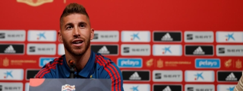 Ramos wants world to fall in love with Spain again