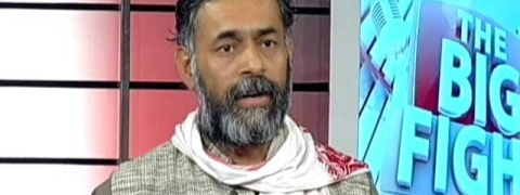 Yogendra Yadav detained by TN police