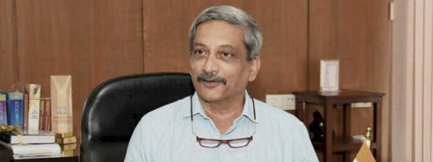 Parrikar admitted to AIIMS