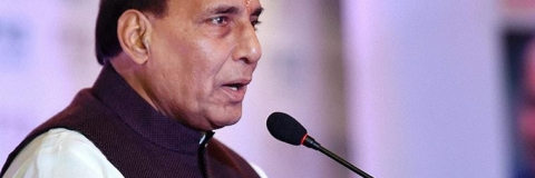 'Let Lotus bloom', says Rajnath