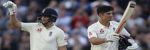 5th Test: Cook, Root help England take lead by 154 runs against India