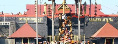 Restrictions on visiting Sabarimala hill shrine lifted