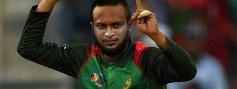 Shakib Al Hasan ruled out for at least three months