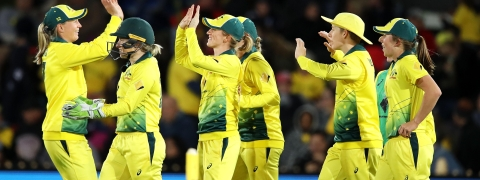 Haynes, Lanning guide Australia to six-wicket victory in first T20I