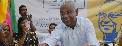 Maldive's poll body officially declares Solih winner in Presidential election