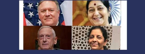 Stage set for inaugural '2 Plus 2 Indo-US Dialogue'
