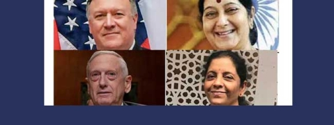 India-US '2 Plus 2' Dialogue likely to produce 'concrete outcome'