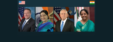 All eyes on maiden 2+2 Indo-US Dialogue