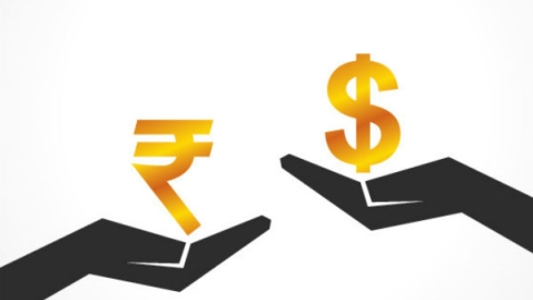 Rupee up by 13 paise against USD