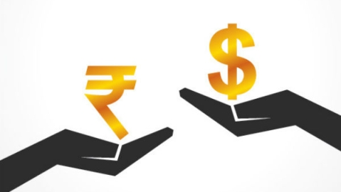 Rupee falls by six paise against USD