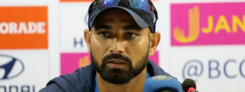 'Wickets depend on luck sometimes': Mohammed Shami