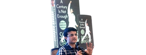 Sourav Ganguly launches his book at Symbiosis International University