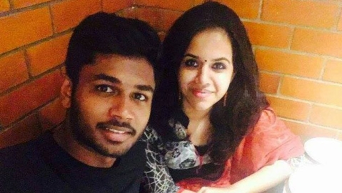 Cricket star Sanju Samson reveals his secret love