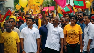 Opposition leader Solih says he has won Maldives election