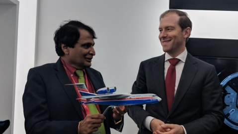 Prabhu stresses on enhancing trade, investment between India, Russia