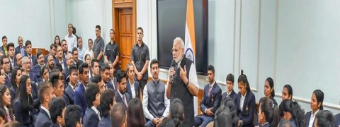 PM urges sportspersons to use technology
