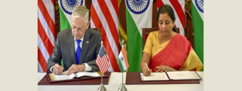 India, US ink COMCASA