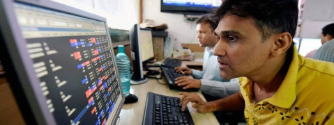 Sensex marginally down by 9.61 per cent