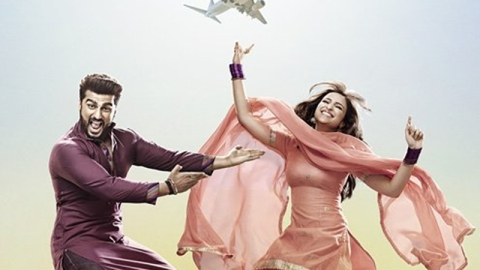 New poster of 'Namaste England' revealing goofy side of Arjun, Parineeti