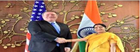 Sushma, Sitharaman begin bilateral talks with US leaders