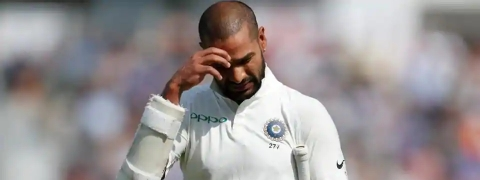 Indian team against Windies announced; Dhawan dropped