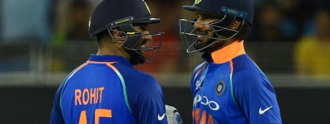 Rohit, Dhawan move up in ODI Player Rankings