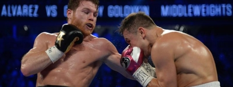 Golovkin suffers first loss of pro career as Alvares prevails