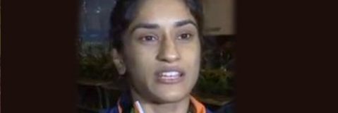 Indian coaches are not good enough: Vinesh Phogat
