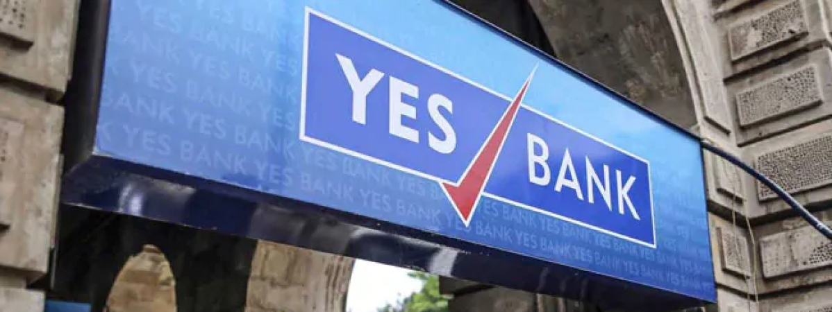 YES Bank drops by 22 percent