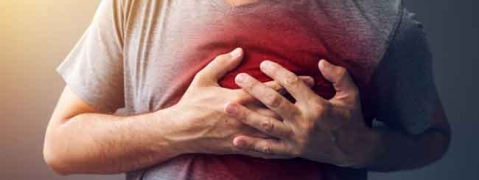 Heart disease caused due to sedentary lifestyle, stress and poor food habit
