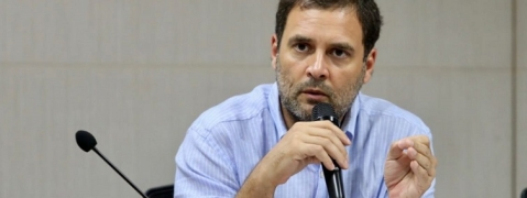 Rahul slams student activists affiliated to BJP for insulting college professor