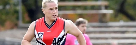 Australian Rules-Transgender footballer withdraws from women's draft