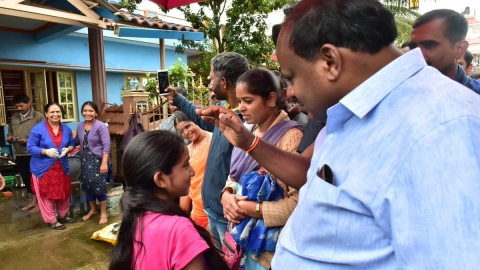 Karnataka government to pay all fees of students in flood hit Kodagu