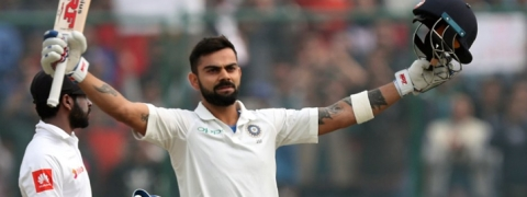 Virat Kohli fastest to score 18,000 runs; surpasses Lara, Tendulkar