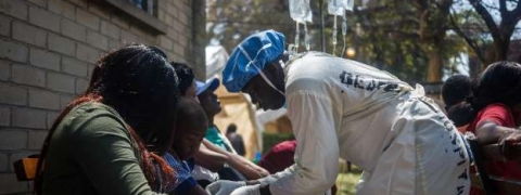 WHO scaling up response to fast-moving cholera outbreak in Zimbabwe