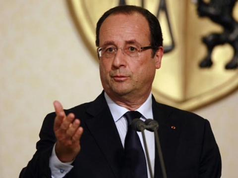 Hollande's bombshell