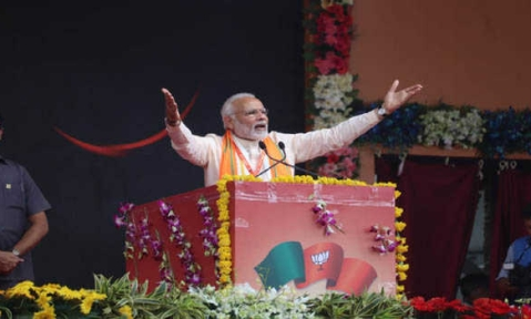 Modi seeks another term, says UPA discriminated against BJP regimes