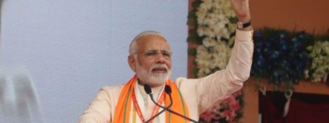 Sounding poll bugle, PM slams Congress for vote bank politics