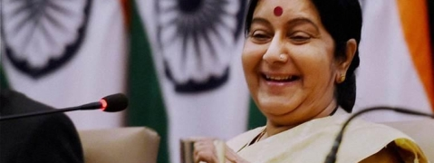 Sushma expresses happiness on winning UNHRC election