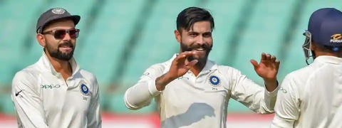India win by Innings and 272 runs
